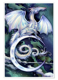 Poster Premium  Touch the moon - Jody Bergsma