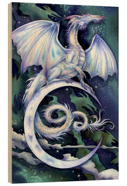 Stampa su legno  Touch the moon - Jody Bergsma