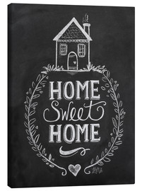 Stampa su tela  Home Sweet Home - Lily & Val