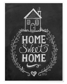 Poster Premium  Home Sweet Home - Lily & Val