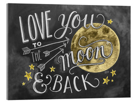 Lily & Val - Love you to the moon