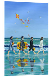 Stampa su vetro acrilico  Abbey Road Beach - Peter Adderley
