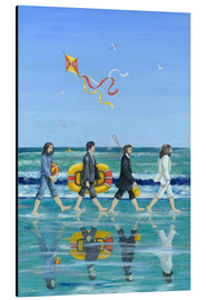Alluminio Dibond  Abbey Road Beach - Peter Adderley