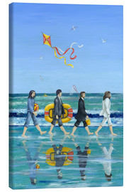 Stampa su tela  Abbey Road Beach - Peter Adderley
