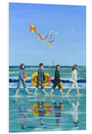 Stampa su schiuma dura  Abbey Road Beach - Peter Adderley