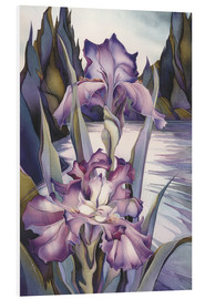 Stampa su schiuma dura  Lady of the lake - Jody Bergsma