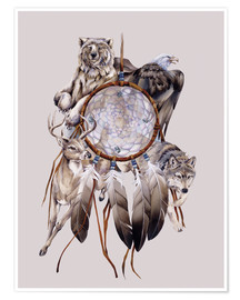 Poster Premium  Dream catcher - Jody Bergsma