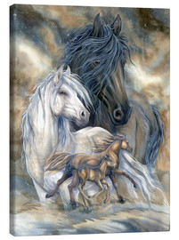 Stampa su tela  Inherit The Wind - Jody Bergsma