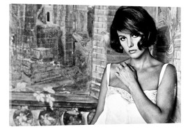Vetro acrilico  TIME OF INDIFFERENCE, Claudia Cardinale