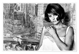 Poster Premium  TIME OF INDIFFERENCE, Claudia Cardinale