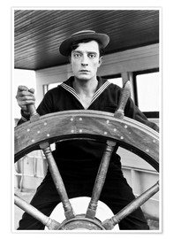THE NAVIGATOR, Buster Keaton, Kathryn McGuire