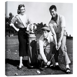 Stampa su tela  THE CADDY, Donna Reed, Jerry Lewis, Dean Martin