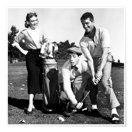 Poster Premium  THE CADDY, Donna Reed, Jerry Lewis, Dean Martin
