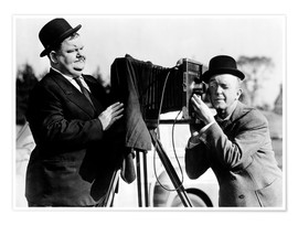 Poster THE BIG NOISE, Oliver Hardy, Stan Laurel