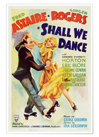 Poster Premium  SHALL WE DANCE, Fred Astaire, Ginger Rogers