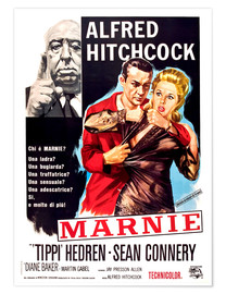 MARNIE, Alfred Hitchcock, Sean Connery, Tippi Hedren