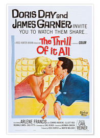 Poster Premium  THE THRILL OF IT ALL, Doris Day, James Garner