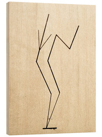 Legno  Analytical drawing after photos of dancing?.. - Wassily Kandinsky