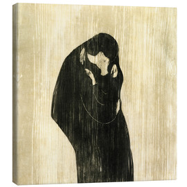 Tela  The Kiss IV - Edvard Munch