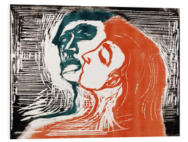Forex  Man and woman is kissing - Edvard Munch