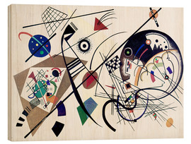 Legno  Continuous Line - Wassily Kandinsky