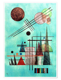 Poster Premium  Across and Up - Wassily Kandinsky
