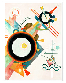 Poster Premium  Arrowhead Picture - Wassily Kandinsky