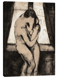 Tela  The Kiss - Edvard Munch