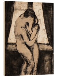 Legno  The Kiss - Edvard Munch