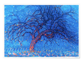 Poster Premium  The Red Tree - Piet Mondrian