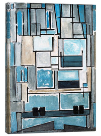 Tela  Composition No. VI - Piet Mondrian