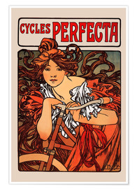 Alfons Mucha - Cycles Perfecta