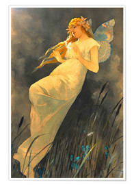 Poster  The Fairy - Alfons Mucha