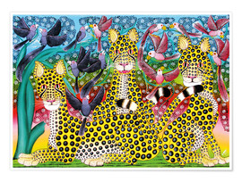 Poster  Leopard pack - Omary