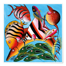 Poster Premium  African fish species - Mrope