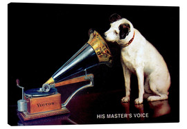 Stampa su tela  Victor Grammophon   His master's voice - Advertising Collection