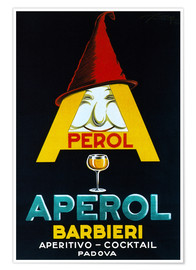 Poster Premium  Aperol Barbieri - Advertising Collection
