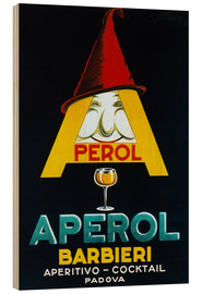 Stampa su legno  Aperol Barbieri - Advertising Collection