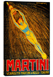 Stampa su tela  Martini Vermouth Martini & Rossi Torino - Advertising Collection