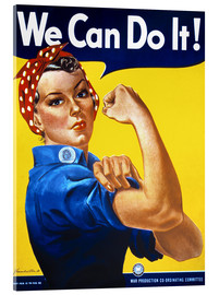 Stampa su vetro acrilico  We can do it! - Advertising Collection