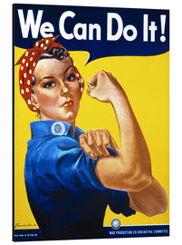 Stampa su alluminio  We can do it! - Advertising Collection