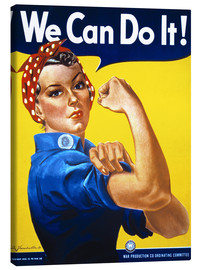 Stampa su tela  We can do it! - Advertising Collection