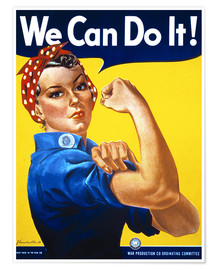 Poster Premium  We can do it! - Advertising Collection