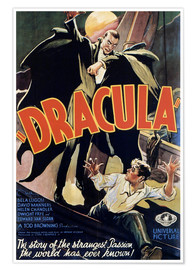 Poster Premium  Dracula - Entertainment Collection