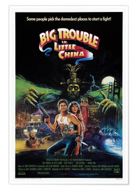 Poster Premium  Big Trouble in Little China (Grosso guaio a Chinatown) - Entertainment Collection