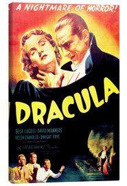 Stampa su tela  Dracula - Entertainment Collection