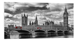 Forex  LONDON Westminster Bridge Panoramic - Melanie Viola