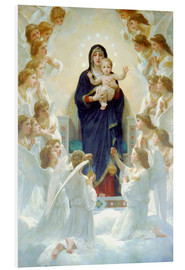 William Adolphe Bouguereau - The Virgin with Angels