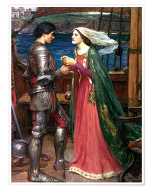 Poster Premium  Tristano e Isotta - John William Waterhouse