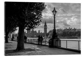 Stampa su vetro acrilico  London black and white - Filtergrafia
